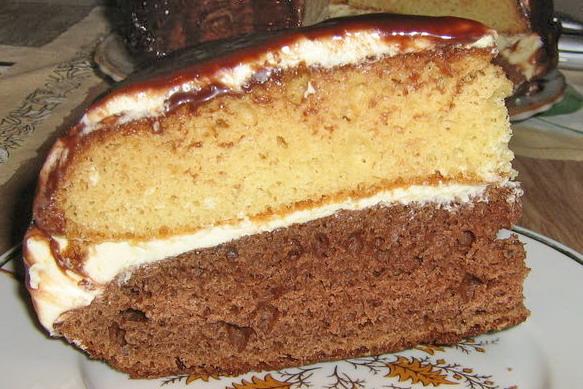 Бисквитные торты с фото рецепты